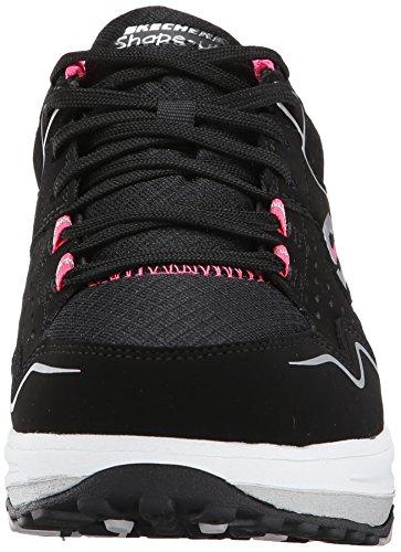 Skechers  Shape-ups 2.0Everyday Comfort, Sneakers basses femmes Noir (Black/Pink)