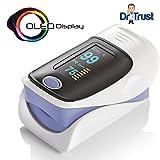 #3: Dr Trust Dr 50D Plus Fingertip Pulse Oximeter with OLED Display ...