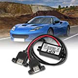 DC Konverter-Modul 12 V auf 5 V 3 A 15 W Doppel-USB-Ausgang Netzteil für Auto