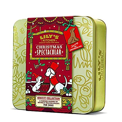 Lily's Kitchen Christmas Biscuit Tin 2018 Dog Treat