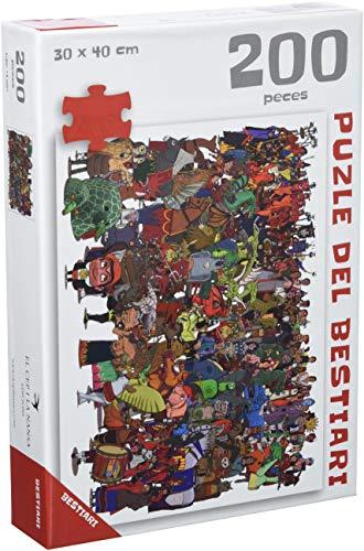 Expositor Cultura Popular - El Cep i la Nansa edicions: Puzle del Bestiari, El: 20 (Els puzles de les Figures de Festa)