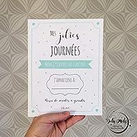 Mes jolies journées - Mon 1er cahier de liaison : nounou crèche grands parents