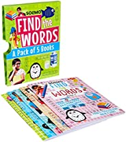 Amazon Brand - Solimo Find the Words (A set of 5 Books)