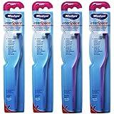 Wisdom Interspace Soft Interdental Toothbrush (2 Blue / 2 Purple) by Wisdom