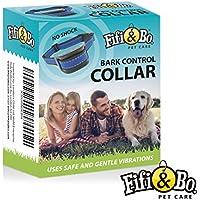 [Gesponsert]Fifi & Bo Vibrationshalsband für kleine und mittelgroße Hunde - wasserdicht Kontrolle von übermäßigen Bellen mit diesem einfachen und effektiven Antibell Halsband für kleine und mittlere Hunde ab 2,5kg und 12cm-48cm Halsumfang Sicher und human ohne Shock
