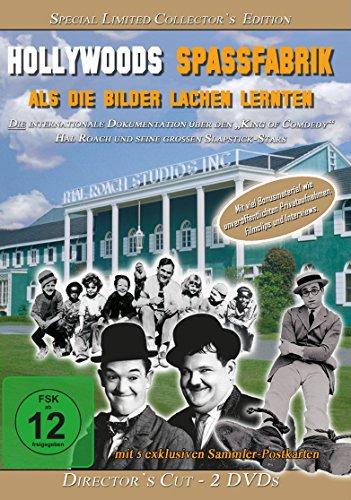 HOLLYWOODS SPASSFABRIK: Als die Bilder lachen lernten - Director´s Cut - Special Limited Collector´s Edition - 2er DVD-Box mit 5 exklusiven Sammlerpostkarten (Bild Dvd)