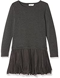 NAME IT Mädchen Kleid Nitwemilla Ls Dress Wl Nmt