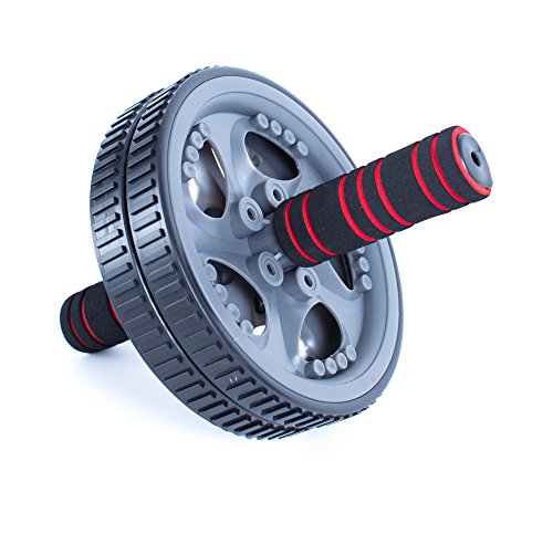bally-total-fitness-ab-wheel-grey