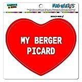 mag-neato' S Panneau de signalisation (TM) Automotive Casier en vinyle aimant Réfrigérateur Voiture I LOVE MY A-B, My Berger Picard...