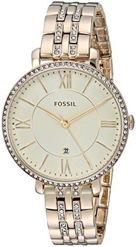 Fossil-ES3547-Reloj-de-pulsera-para-Mujer-amarillo-oro-amarillo