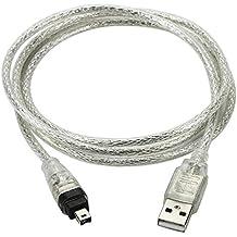 Nuevo 1,5m USB Cable de datos firewire IEEE 1394para Mini DV HDV Videocámara para editar
