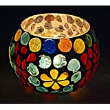 Decorative Glass Tealight Candle Holder Votive