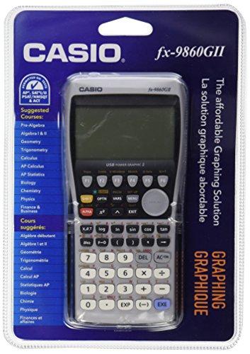 CASIO Grafikrechner FX9860 GII, Batteriebetrieb FX9860GII