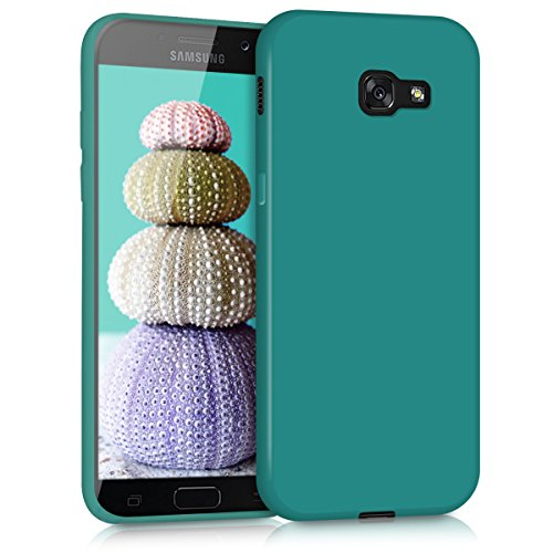 kwmobile Samsung Galaxy A5 (2017) Hülle - Handyhülle für Samsung Galaxy A5 (2017) - Handy Case in Petrol matt