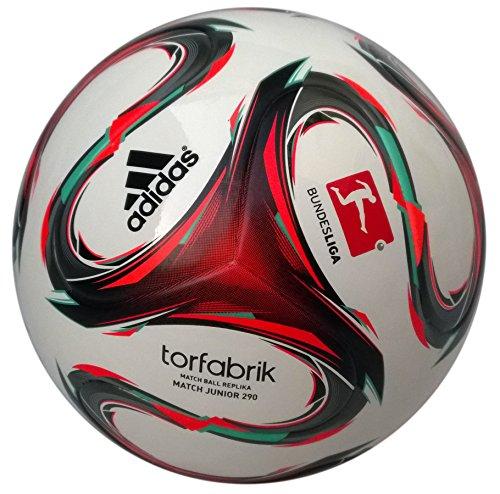 adidas Kinder Fußball Trainingsbälle DFL Junior 290, Wht/Infred/Vivmin, 4, ADIF93545_000