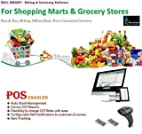 BILL SMART Accounting Billing Inventory Software For All Grocery Stores & Marts