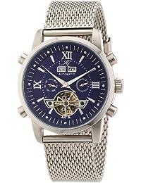 Ingraham Herren-Armbanduhr XL Calcutta II Analog Automatik Edelstahl IG CALC.2.221105