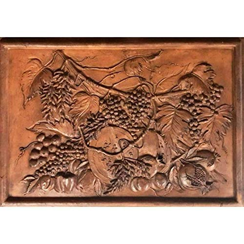 Skulpturen 20th Century Stillleben Bas Relief Nature Morte signiert vom Künstler - Skulptur Bas Relief