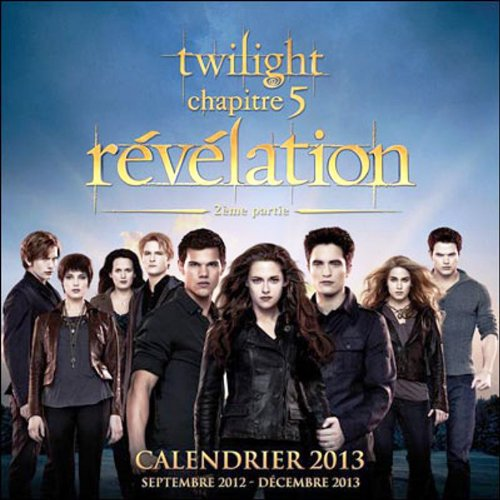 Calendrier Twilight 4 par Collectif