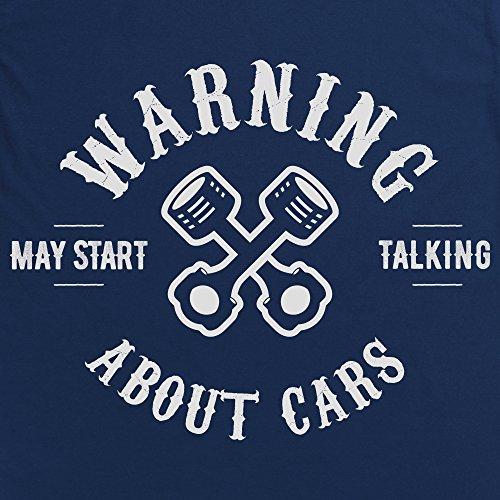 May Start Talking About Cars T-Shirt, Herren Dunkelblau