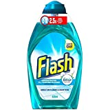 Flash Liquid Gel Nettoyant tout usage coton frais (520ml) - Paquet de 2