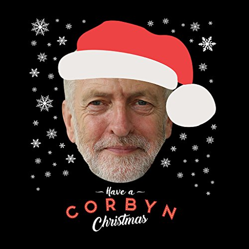 Jeremy Corbyn Have A Corbyn Christmas Womens Sweatshirt Black