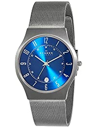 (Renewed) Skagen Grenen Analog Blue Dial Mens Watch - 233XLTTN#CR