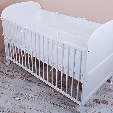 Bettumrandung Nest Kopfschutz Nestchen 420x30cm, 360x30cm, 180x30 cm Bettnestchen Baby