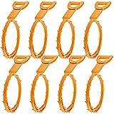 8 Confezione dei capelli Drain Clog di rimozione, senha scarico Snake Attrezzature / Auger Tipo di utensile di pulizia