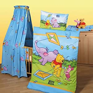 herding 2422 3 er set winnie pooh baby best bestehend aus bettw sche gr e 40 60. Black Bedroom Furniture Sets. Home Design Ideas