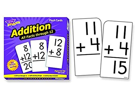 Addition 0-12 (all facts) Flash Cards by Trend Enterprises Inc