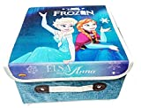 Art box Girl print (f) Utility Foldable box for keeping essentials on dressing table or in kids room