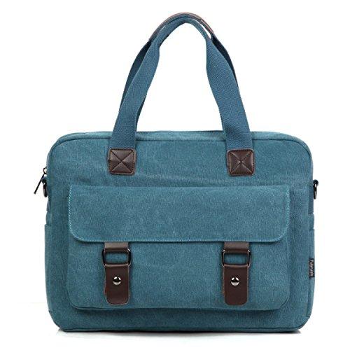 MYLL Uomini Cartella Daffari Cartella Uomini Canvas Shoulder Handbag Oblique Croce   cdce93