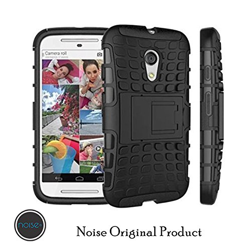 Noise combo case for Moto G2 with kickstand for Moto G2(Black)