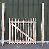 Haselnussholz Eingangstor Staketenzaun Eingang Tor - verschiedene Größen (120x120cm)