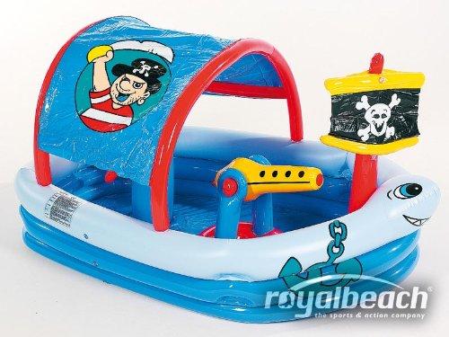 Royalbeach Planschbecken Piratenpool mit  Splashfunktion, 10224