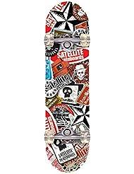 Gemgo 9 capas de arce skateboards robusto con el modelo del cráneo