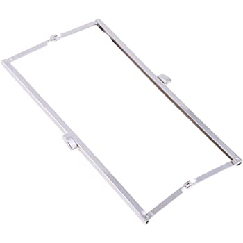 365f05ef7cf2 SM SunniMix Metal Bag Frame Clutch Handbag Frames Replacement Kiss Clasp  Lock DIY Sewing Purse Shoulder Bag
