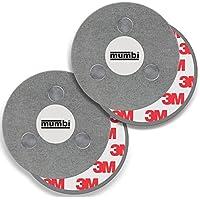 Mumbi 2-Magnet-Rauchmelder-Befestigung - Conjunto de 2 fijación magnética para superficies lisas,