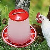 Kicode Hühnereimer Rasterformat Verkehr Lebensmittelzufuhr Waterer Kunststoff Automatisch