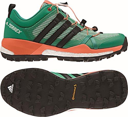Adidas Terrex Skychaser W, Scarpe da Escursionismo Donna, Verde (Verbas/Negbas/Narsen), 40 EU