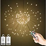 Best DEI String Lights - Fireworks Lights 150 LED Indoor String Lights Battery Review