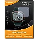 """2 x SWIDO protecteur d'écran Polar RC3 GPS protection d'écran feuille """"AntiReflex"""" antireflets"""