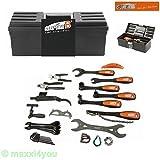 01231001 Super-B Werkzeugkoffer Werkzeug Fahrradwerkzeug TB-98052 - 22-teilig