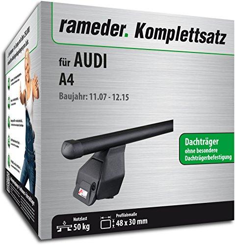 Rameder Komplettsatz, Dachträger Tema für Audi A4 (118782-06418-1)