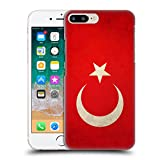 Head Case Designs Turquie Turque Drapeaux Vintage Étui Coque D'Arrière Rigide pour iPhone 7 Plus/iPhone 8 Plus
