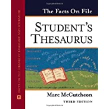 The Facts On File Student's Thesaurus