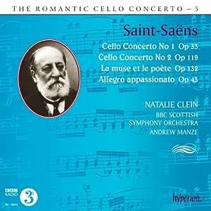 Saint Saens: Romantic Cello Concerto Vol.5 [Natalie Clein, Andrew Manze] [Hyperion: CDA68002]