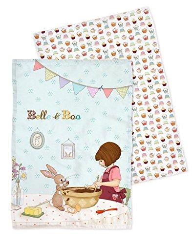Preisvergleich Produktbild Belle + Boo Küchentuch-Set