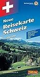 Hallwag Straßenkarten, Neue Reisekarte Schweiz (Hallwag Strassenkarten)